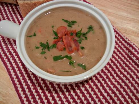 Creamy Mushroom Chowder with Bacon The Tasty Fork