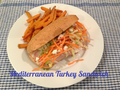 Mediterranean Turkey Sandwich The Tasty Fork