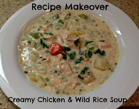 Recipe Makeover Creamy Chicken and Wild Rice Soup the Tasty Fork