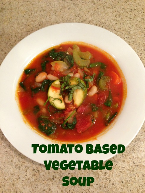 Tomato Based Vegetable Soup
