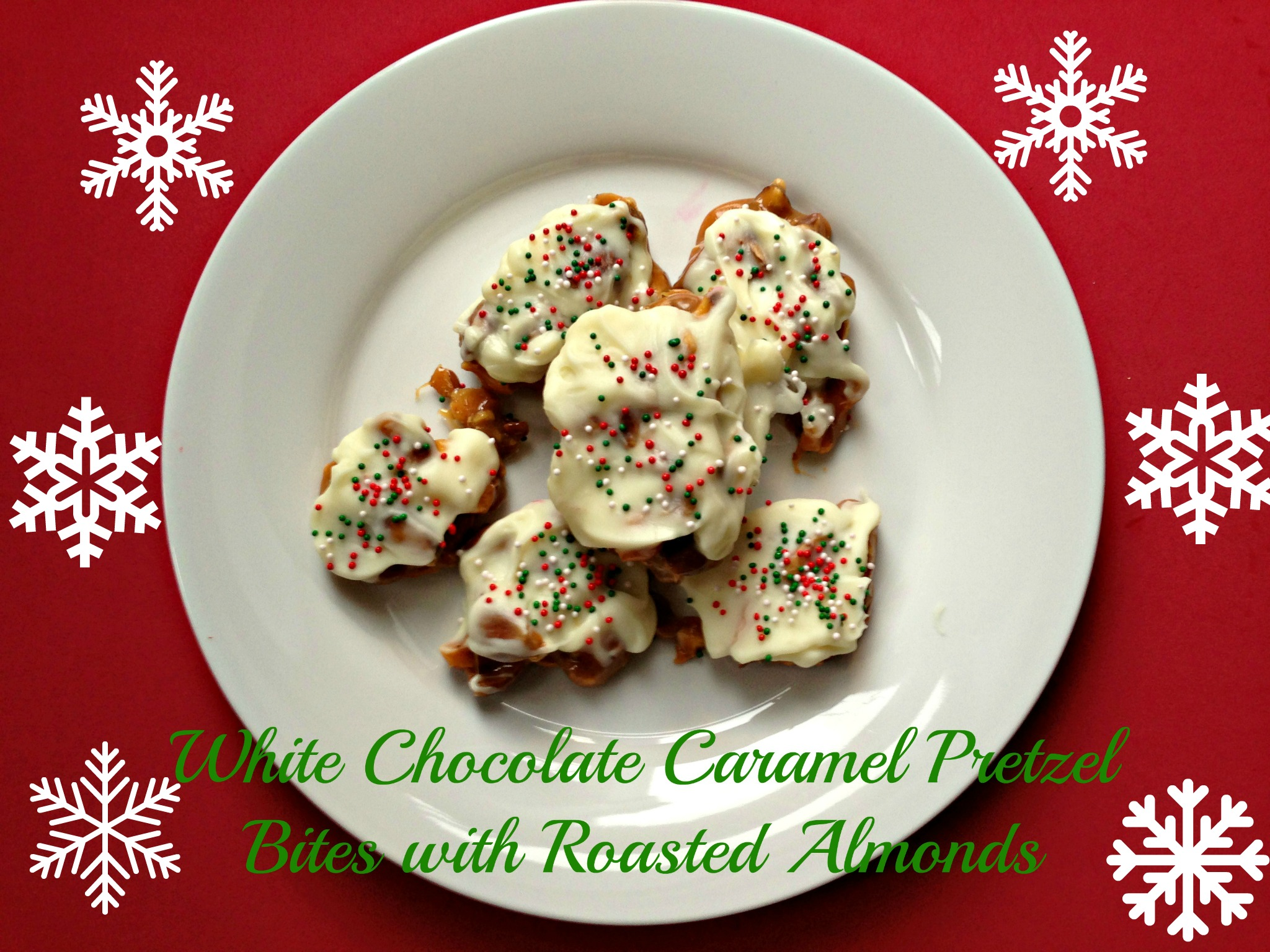 White Chocolate Caramel Holiday Treats via The Tasty Fork